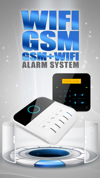 GSM/WiFi Alarm Automation System