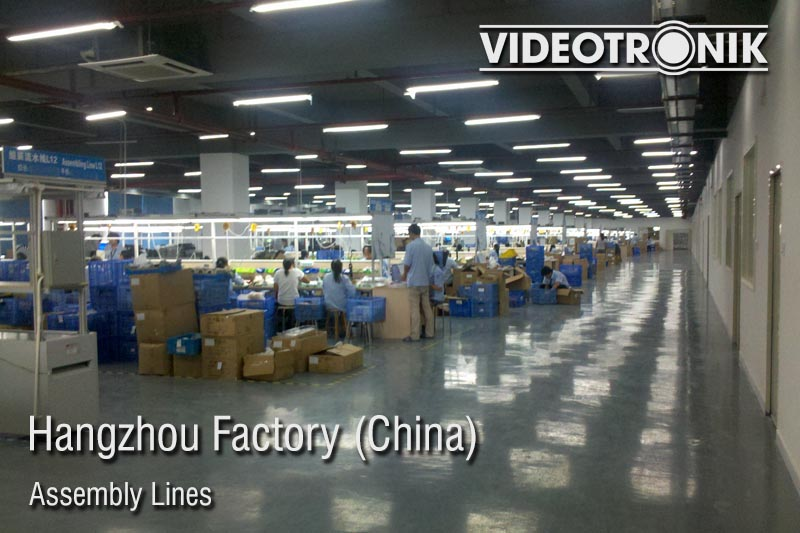 Hangzhou Factory - Assembly Lines