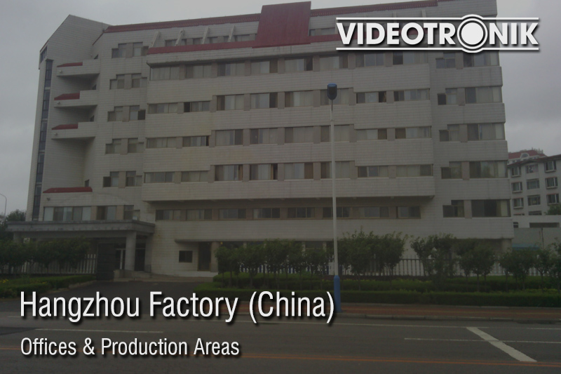 Hangzhou Factory - Offices & Production Areas