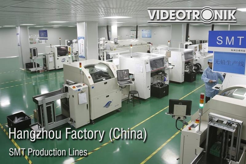 Hangzhou Factory - SMT Production Lines