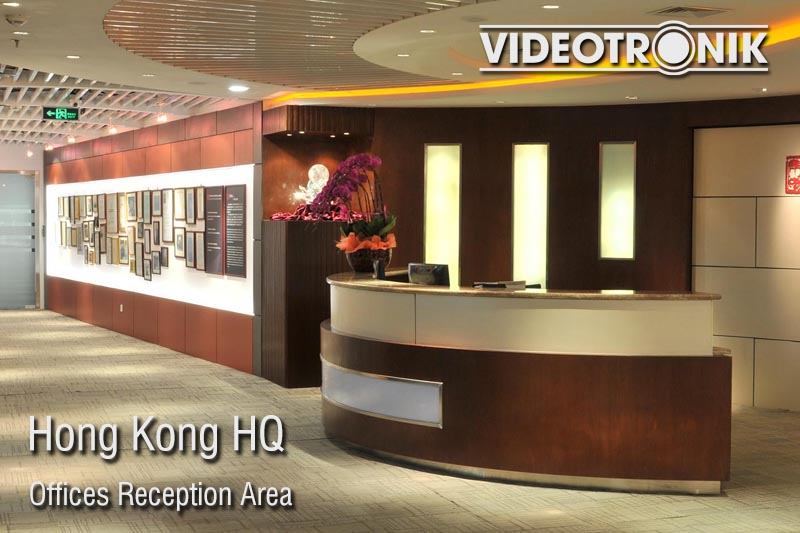 Hong Kong HQ - Offices Reception Area