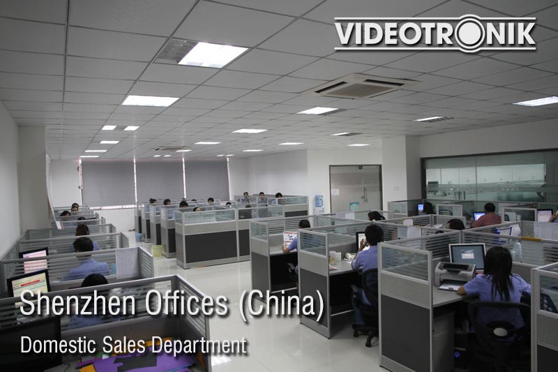 Shenzhen Offices - Domestic Sales Department